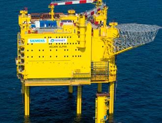 德国TenneT完成HelWin 1海底电缆系统调试