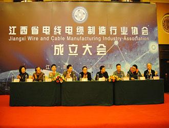 热烈祝贺江西省电线电缆制造行业协会成立
