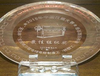 无为杯-河南省电线电缆行业协会荣获最佳组织奖